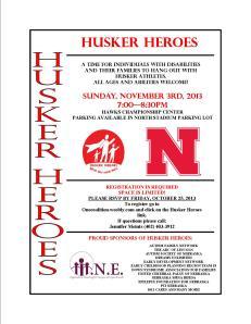 HUSKER HEROES
